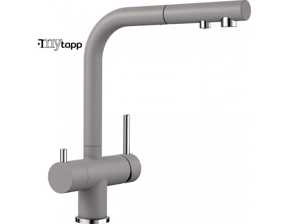Kuchyňská baterie pro filtrovanou vodu Blanco Fontas s II aluminium 525201