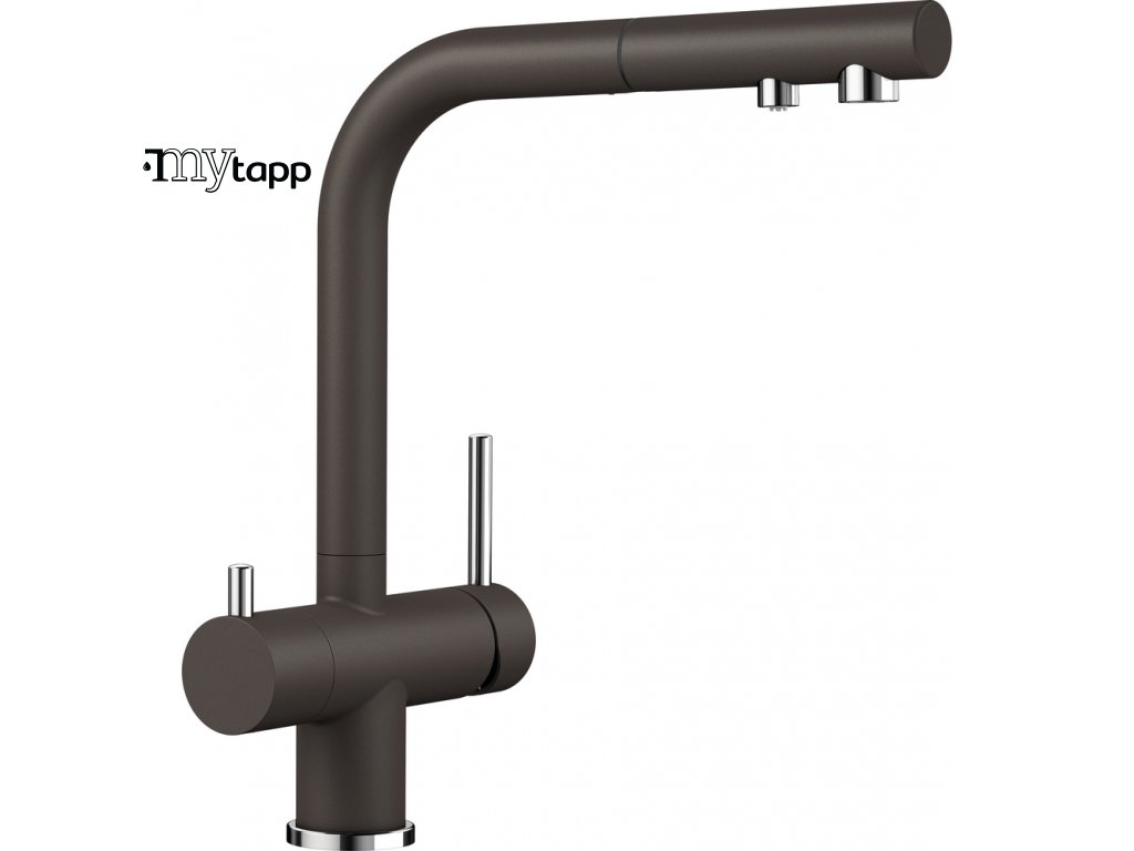 Kuchyňská baterie pro filtrovanou vodu Blanco Fontas s II kávová 525205