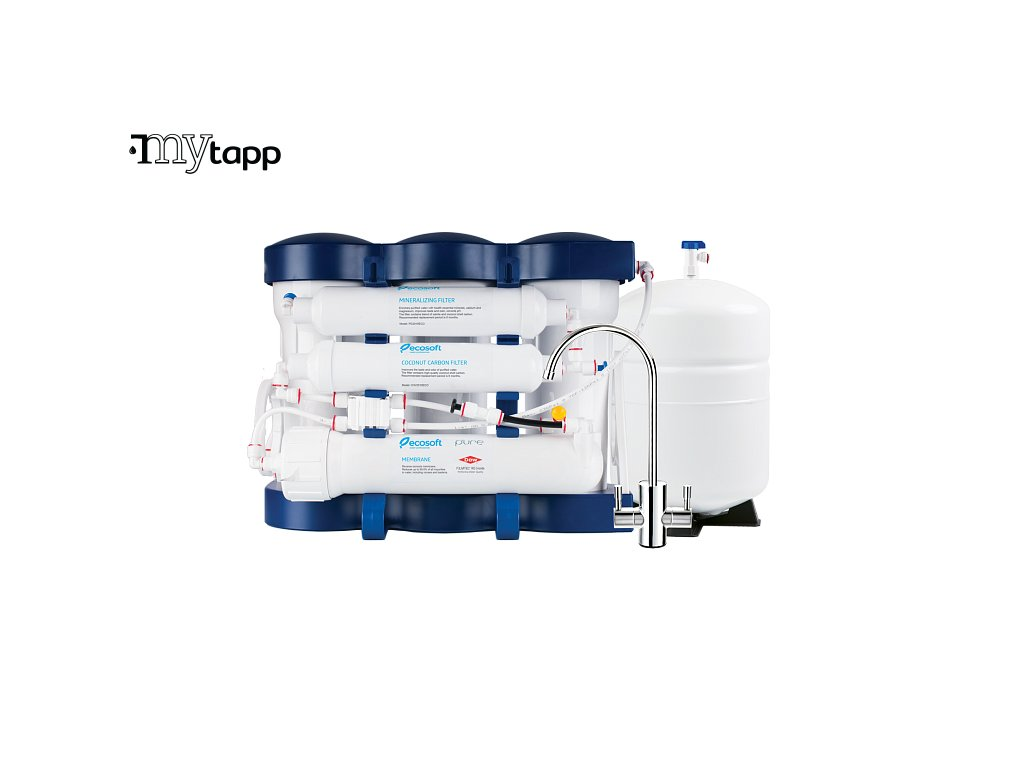 ecosoft p ure reverse osmosis filter with mineralization