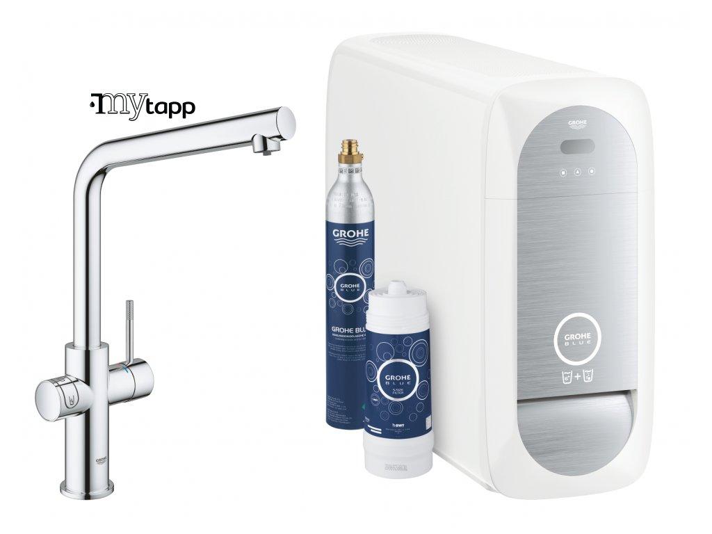Filtrační systém s chlazením GROHE Blue Home 31454001