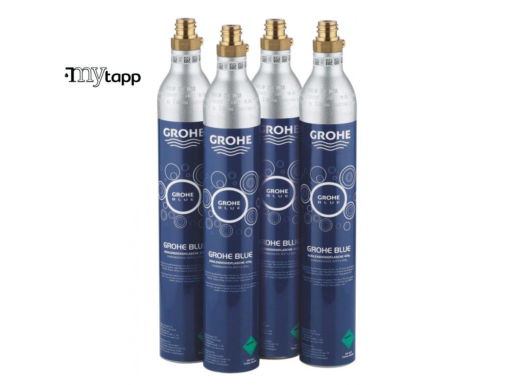 GROHE Blue - Karbonizační lahev CO2 425 g (4 ks) 40422000