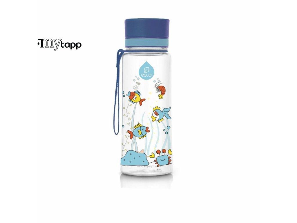 Tritanová lahev pro děti EQUA Flamingo