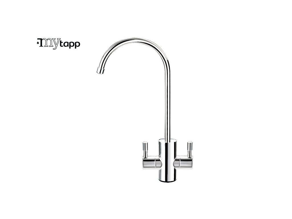 modern 2 handle ball valve faucet