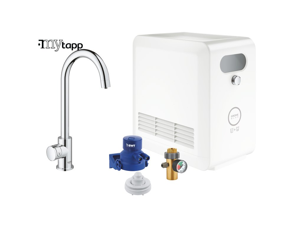 GROHE Blue Professional Connected   Mono