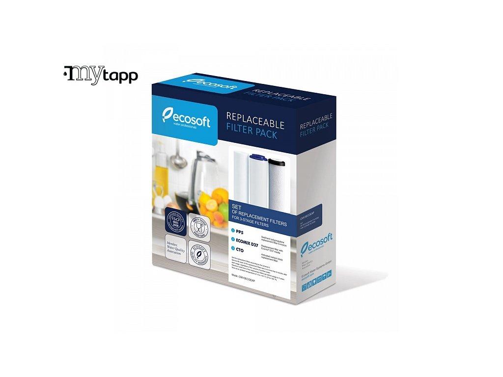 Náhradní filtry pro filtrační systém Ecosoft Standard 3