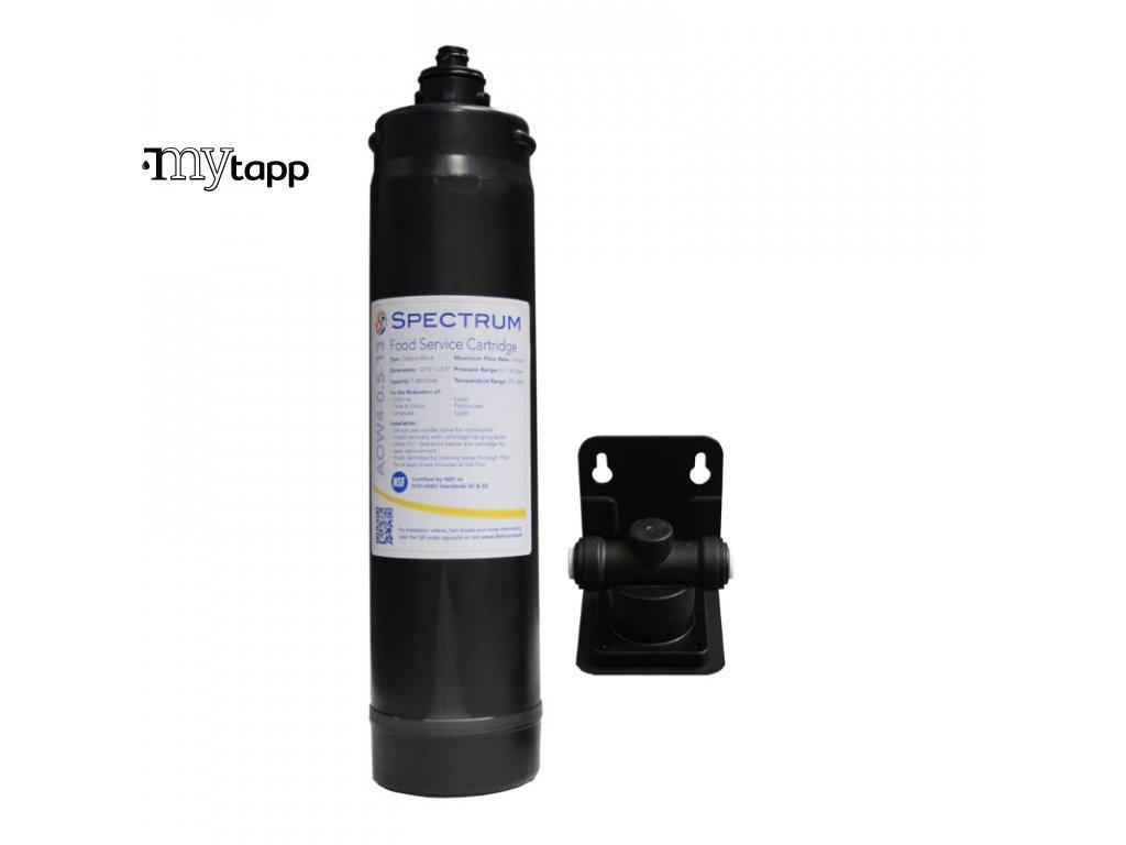 Filtr na voduSPECTRUM Food Service System jednocestnou baterií