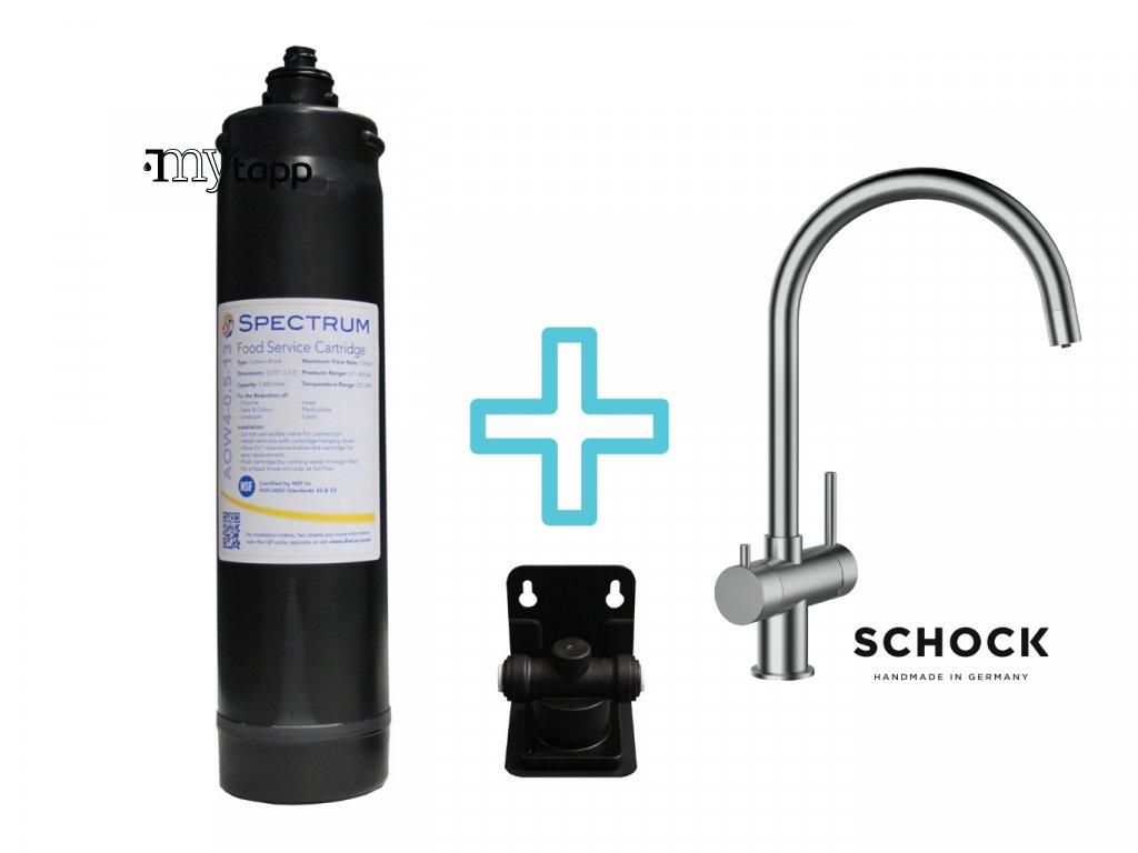 Filtr na vodu SPECTRUM Food Service System + baterie SCHOCK