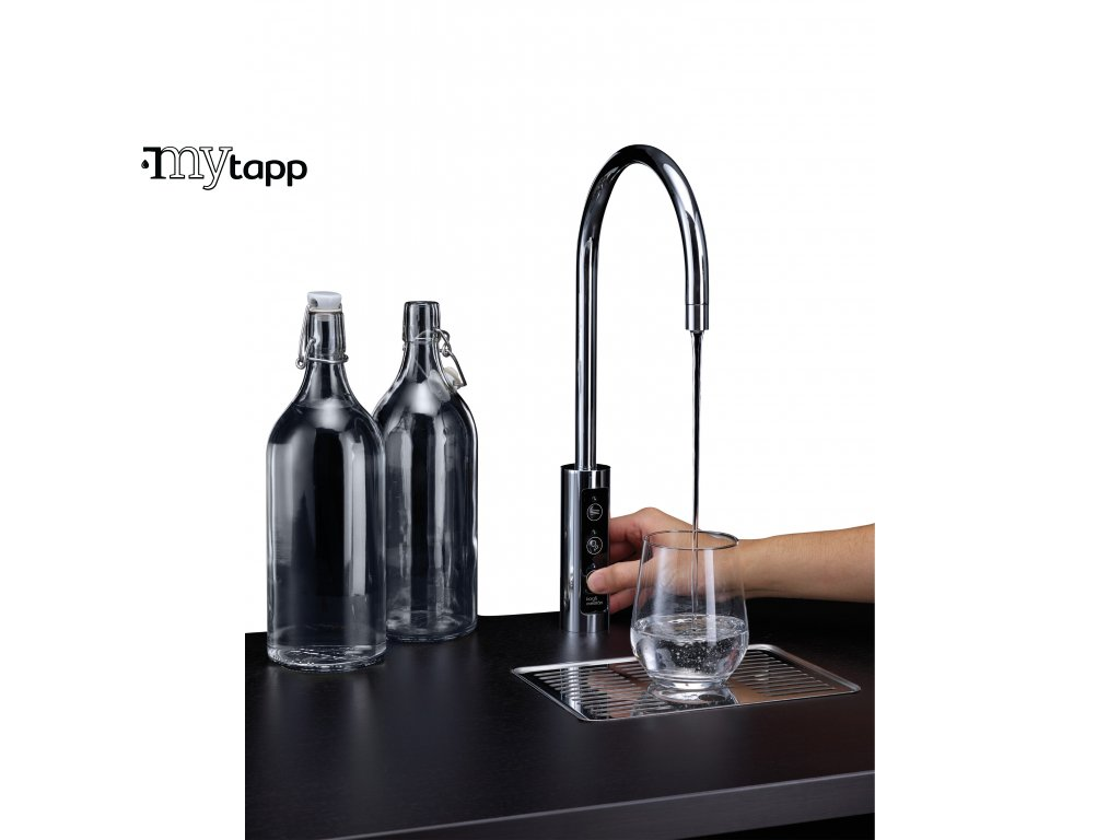 U1 Borg & Overstrom Tap dispense and bottles (White) High Resolution