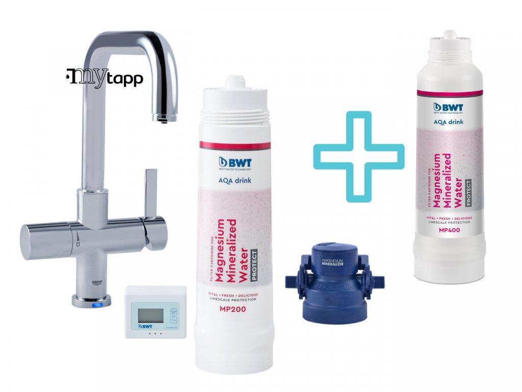 Filtr na vodu BWT AQA drink Pure + náhradní filtr s 20% slevou