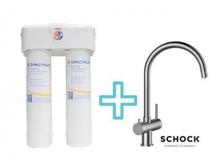 Výhodný set filtru SPECTRUM Ultrafiltrace +dřezové baterie SCHOCK ARES