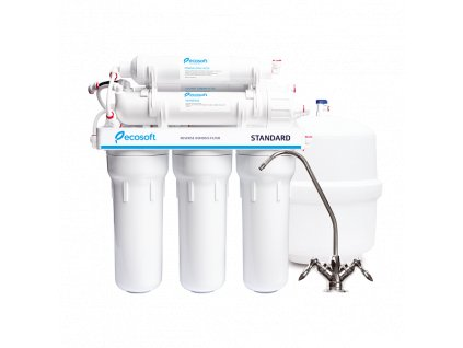 ecosoft standard reverse osmosis filter with mineralization