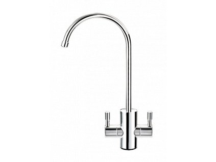 modern 2 handle ball valve faucet