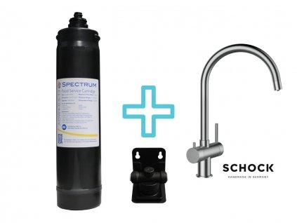 Výhodný set filtru SPECTRUM + dřezové baterie SCHOCK ARES