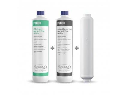 Náhradní filtry pro Chanson Nanofiltrace Athena