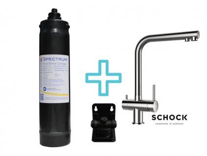 Výhodný set filtru na vodu a dřezové baterie SPECTRUM Food Service System