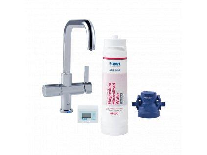 Filtr na vodu BWT AQA drink Pure s výdejní baterií GROHE