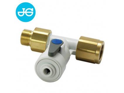 """Připojovací ventil pro filtrační systémy 3/8""""BSPx1/4"""" hadička"""