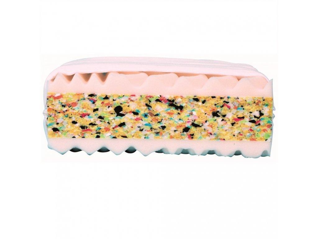 Nela New - matrace - sendvičová 7zónová : 200x90cm