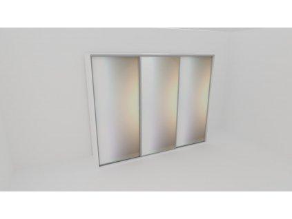 Skříň FLEXI 3 š.300cm v.240cm : 3x zrcadlo - z letáku