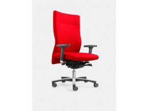 4250660216204 1 loeffler designteam drehstuhl panamero 885 rot mit armlehnen mit lordosenstuetze 600x600