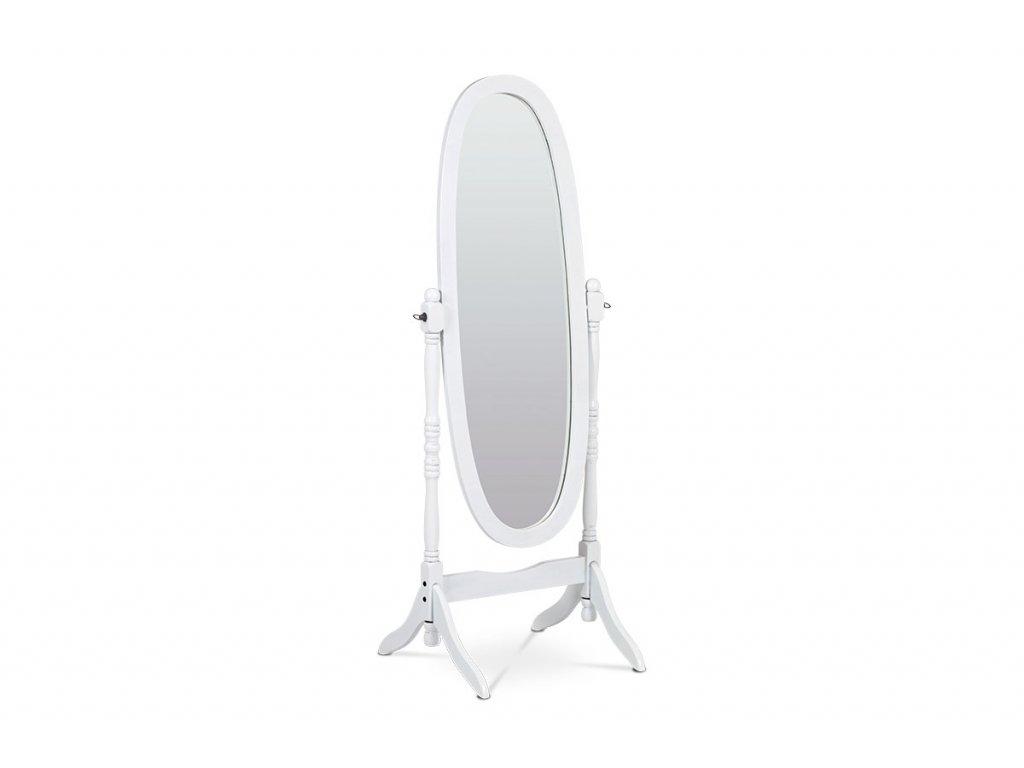 Zrcadlo, masiv, bílý matný lak