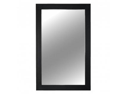 Kondela Zrcadlo, dřevěný rám černé barvy, Malkia TYP 1