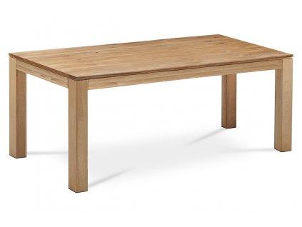 Jídelní stůl 200x100x75, masiv dub, povrchová úprava olejem, nohy 10x10 cm