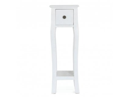 Kondela Toaletní stolek / toaletka, bílá, WAGNER 3