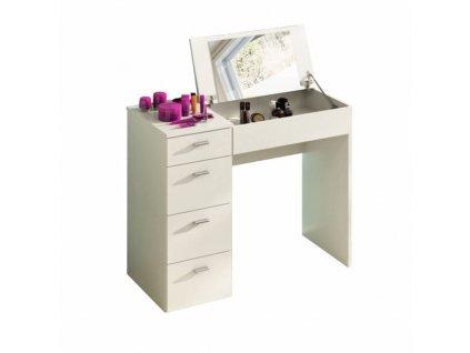 Kondela Toaletní stolek, bílá, BELINA