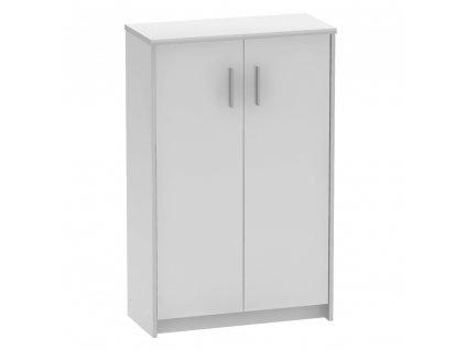 Kondela Kancelářská skříňka, švestka/bílá, JOHAN 2 NEW 13 JH033