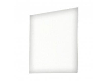 Kondela Zrcadlo, bílá extra vysoký lesk, SPACE 54-959-13