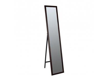 Kondela Zrcadlo, dřevěný rám hnědé barvy, Malkia TYP 4