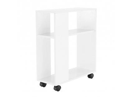 Kondela Příruční stolek, bílá, Zoela New