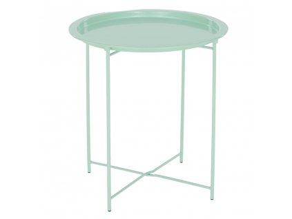 Kondela Příruční stolek s odnímatelnou tácem, neo mint, RENDER