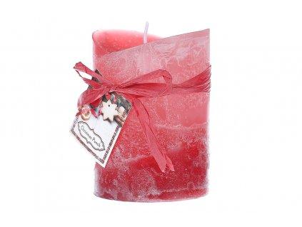 Svíčka , 267g vosku, vůně vánoční punč