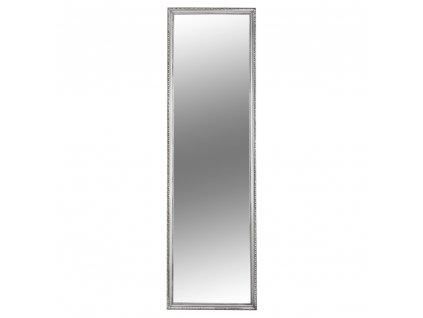 Kondela Zrcadlo, stříbrný dřevěný rám, MALKIA TYP 3