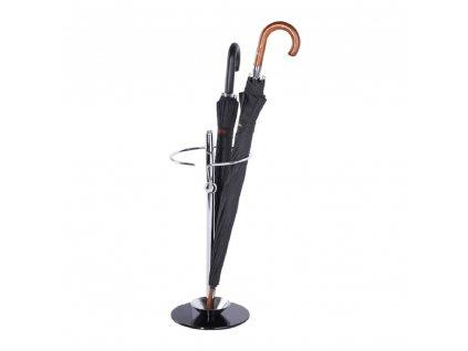 Kondela Stojan na deštník, kov/sklo, OLDO