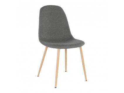 Kondela Židle, tmavě šedá látka / buk, LEGA