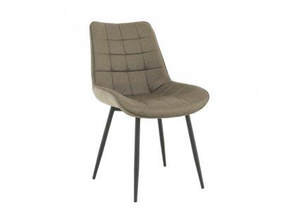 Kondela Židle, šedohnědá taupe / černá, Sarin