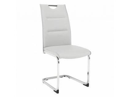 Kondela Jídelní židle, světlešedá, TOSENA