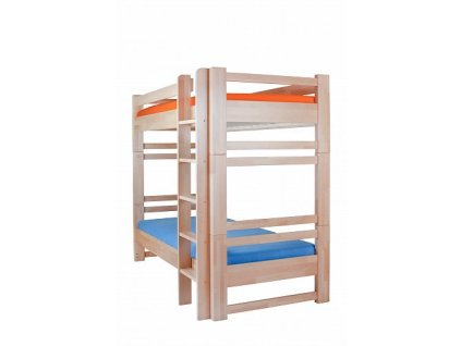 LUCAS patrová postel masiv buk / smrk