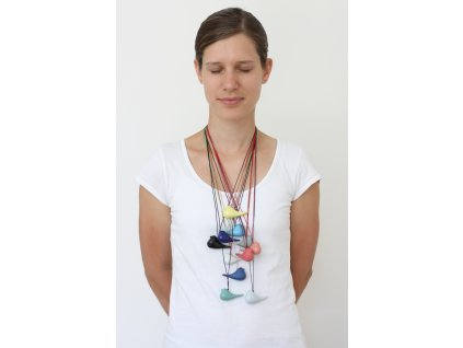najs design porcelain bird necklace tereza severynova 02