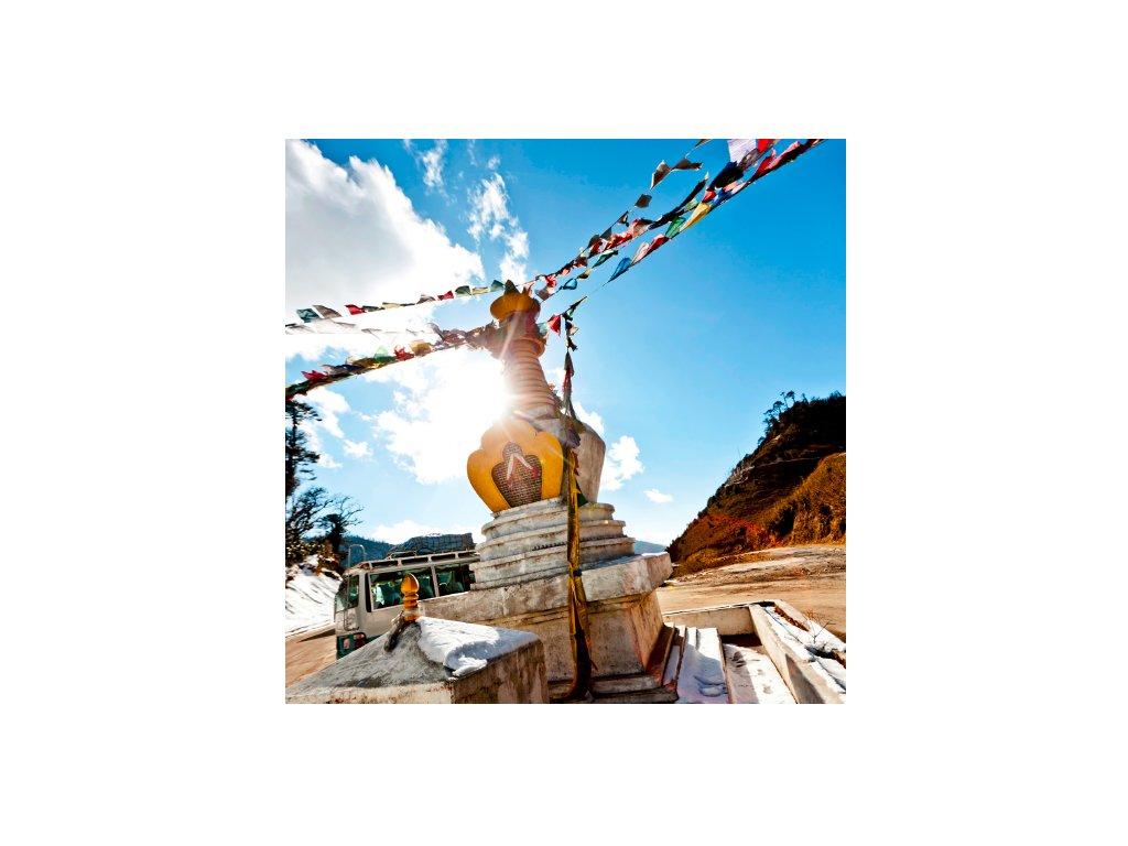 Bhútán, přání – motiv č. 2