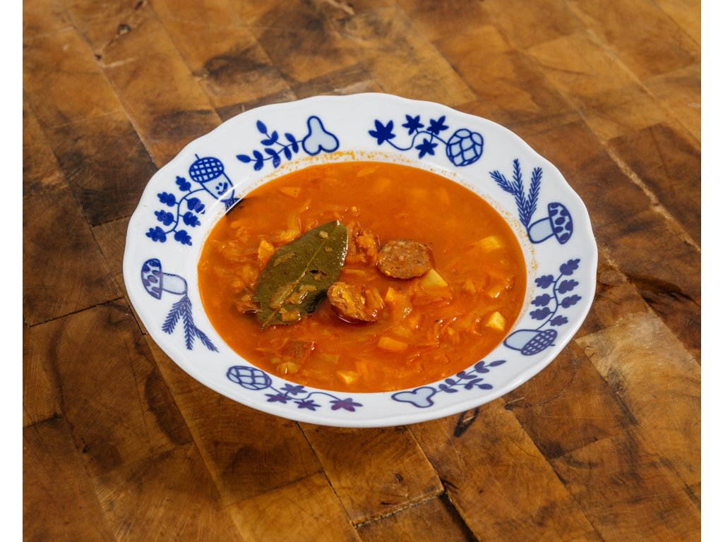 polévka zelňačka