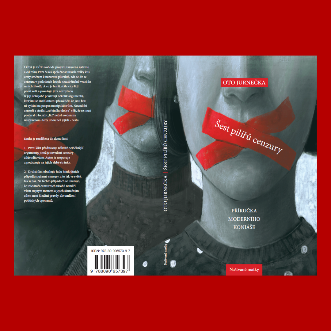 Šest pilířů cenzury - Oto Jurnečka