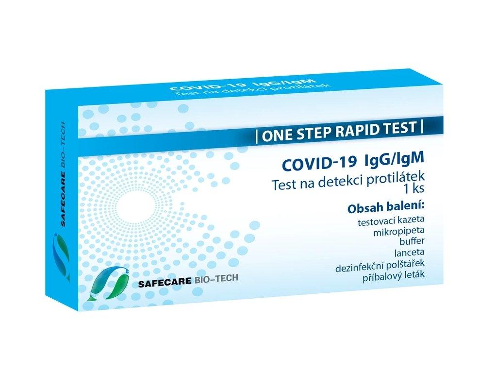 COVID-19 IgG/IgM test