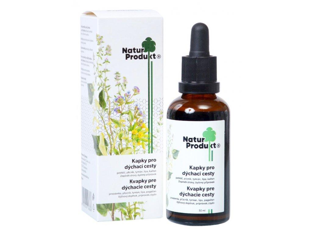 Kapky pro dýchací cesty 50 ml Naturprodukt