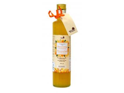 Naturprodukt sirup Pomerančový s kardamomem 500 ml