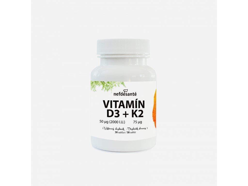 Novinka Vitamín D3+K2
