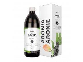 nefdesante Aronie CZ 500 ml krabicka a lahev
